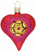 Love Within, Heart Reflector Ornament by Inge Glas
