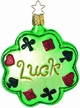 Lucky Clover Ornament by Inge Glas