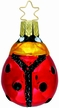 Lucky Lady Bug - Petite Ornament by Inge Glas
