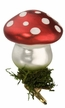 Lucky Mushroom Clip On Ornament by Inge Glas