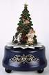 Christmas Tree Pewter Music Box by KÜHN