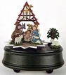 Nativity Pewter Music Box by K�HN