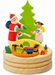 Santa & Angel Music Box by Graupner Holzminiaturen in Crottendorf-Erzgebirge Music: Santa Claus is Coming to Town