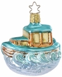 Making Waves, Fishing Boat Ornament by Inge Glas