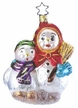Mama Knows Best Snowman Ornament by Inge Glas