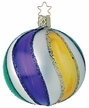 Mardi Gras Ball - Large Ornament by Inge Glas