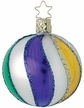 Mardi Gras Ball - Medium Ornament by Inge Glas
