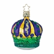 Mardi Gras Carnival Crown Ornament by Inge Glas