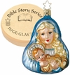 Mary with Baby Ornament by Inge Glas