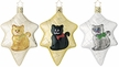 Meow, Meow, Meow Ornament by Inge Glas - $12 each