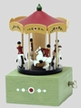 "Merry-Go-Round Music Box by Wolfgang Werner Volkskunstwerkstatt in Seiffen plays ""The Carousel Waltz"""