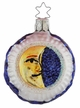 Midnight Moon Ornament by Inge Glas