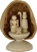Mini Nativity in Walnut Shell by Holzwerkstatt Gernegross in Dorfchemnitz