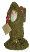Moor Santa with Basket & Mushrooms Paper Mache Candy Container by Ino Schaller