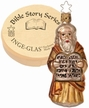 Moses and the Ten Commandments Ornament by Inge Glas
