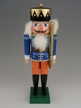 Blue King with Staff Nutcracker by Werkst�tte Volker F�chtner