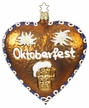 Octoberfest in Bavaria, Gingerbread Heart Ornament by Inge Glas