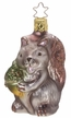 Oh Nuts!, Squirrel Ornament by Inge Glas