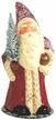 Old Red Santa Paper Mache Candy Container by Ino Schaller