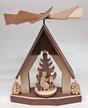 Standing House with Miner, Angel & Rocking Horse Pyramid by Harald Kreissl in Marienberg