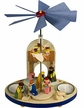 Christmas Nativity with Angels Tealight Pyramid by Graupner Holzminiaturen in Crottendorf-Erzgebirge