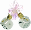 Pair of Dice Ornament by Inge Glas