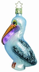 Percy the Pelican Ornament by Inge Glas