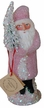 Pink Beaded Coat Paper Mache Candy Container by Ino Schaller
