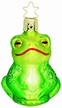 Pond Lover Frog Ornament by Inge Glas