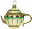 Pot of Roses Teapot Ornament by Inge Glas