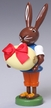 Rabbit with Egg Wooden Figurine by Thomas Preissler