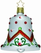 Radiant Song Bell Ornament Encrusted with Swarovski Crystals  by Inge Glas