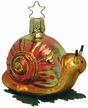 Ready to Go Snail Ornament by Inge Glas