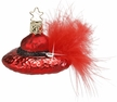 Red Hat Ruby Ornament by Inge Glas