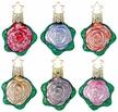 Ring Around the Rosie Ornament by Inge Glas - $9 each