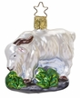 Rock Climber Mountain Goat Ornament by Inge Glas