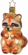 Rocky Raccoon Ornament by Inge Glas
