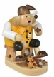 Teddy Bear Maker Smoker by KWO Kunstgewerbe-Werkst�tten in Olbernhau