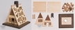 Make it Yourself Gingerbread House Smoker Kit by Drechslerei Kuhnert