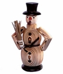 Natural Snowman Smoker by Franz Karl GmbH in Venusberg