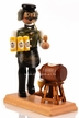 Radler Beer Man with Keg Smoker by Miriquidi-art in the Erzgiberge