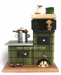 Smokey Green Oven Smoker by Miriquidi-art in the Erzgiberge