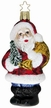 Santa Claus is Coming to Town Ornament by Inge Glas