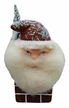Santa on Chimney Paper Mache Candy Container by Ino Schaller