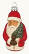 Santa Paper Mache Ornament by Marolin