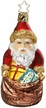 Santa's Greatest Pleasure  - Life Touch Ornament by Inge Glas