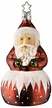 Santa Surprise - Life Touch Bell Ornament by Inge Glas