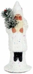 Santa with Mica Paper Mache Candy Container by Ino Schaller