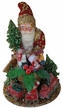Santa with Toy Bag Paper Mache Candy Container by Ino Schaller