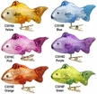School of Fins, Fish Ornament by Inge Glas - $15 each